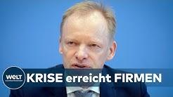 KATASTROPHALE CORONA-STIMMUNG: Deutsche Firmen haben jeden Optimismus verloren