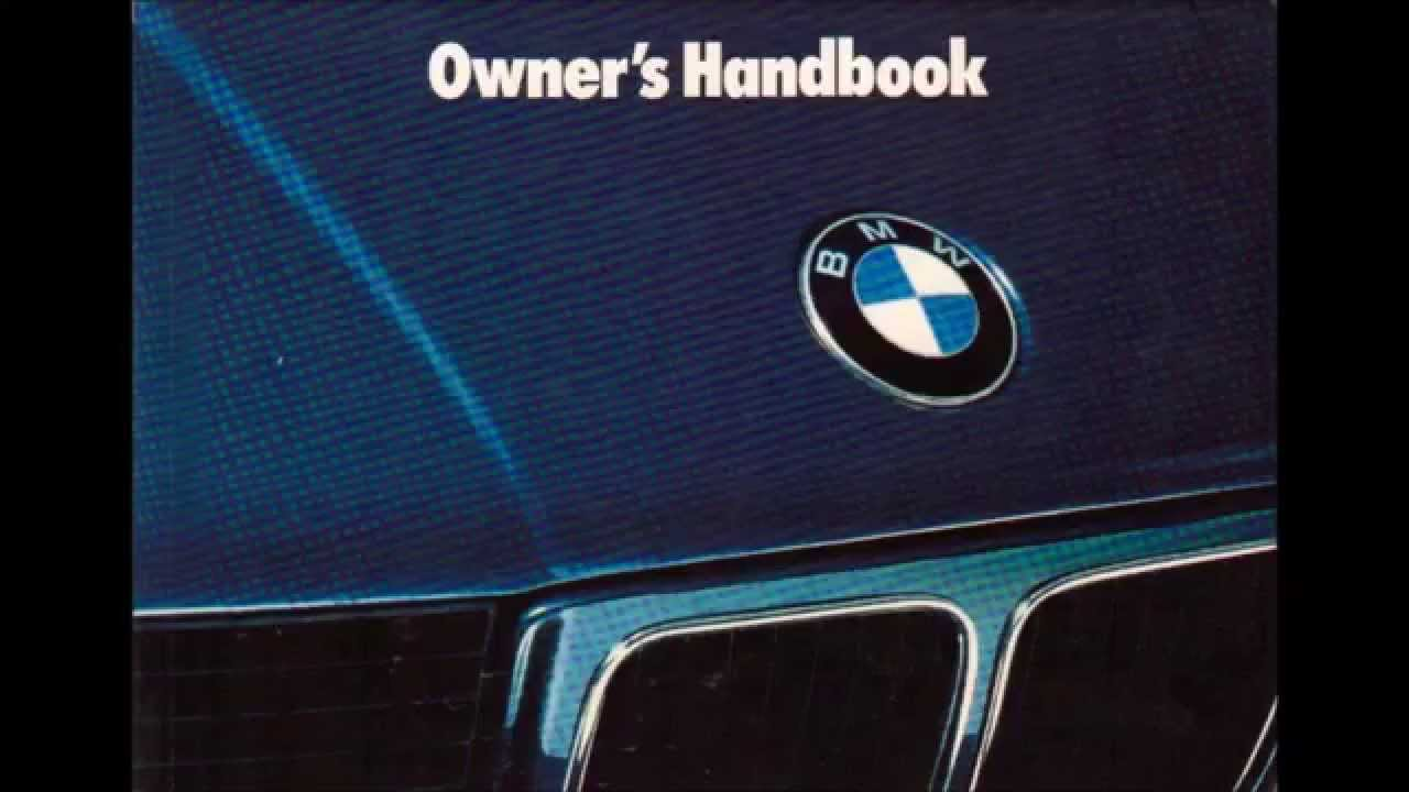 hight resolution of bmw e34 525i new owners manual audiobook
