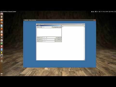 Basic W.I.N.E. install Ubuntu 12.04