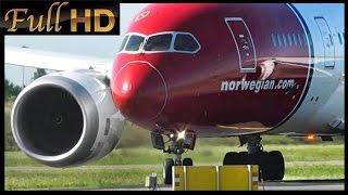 "Norwegian / Boeing 787 ""Dreamliner"" Close Up!! (Full HD1080p)"