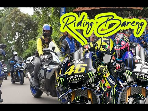 Download Yamaha Indonesia Ajak Riding Bareng Valentino Rossi dan Maverick Viñales