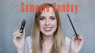 Samezie Sunday: MAC Whirl Lipstick & Lip Liner Comparison | Heather Pickles