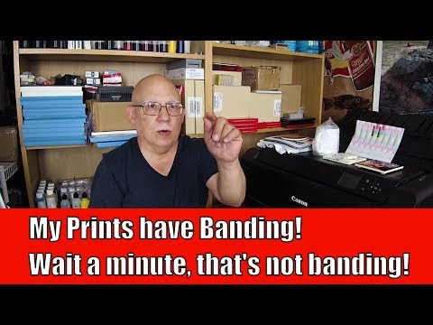 My Prints have Banding! Wait a minute, that's not banding! - YouTube
