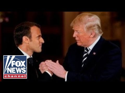 Foreign policy tops Trump's bilateral agenda with Macron