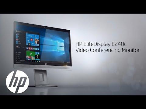 23.8-inch Video Conferencing Monitor | HP EliteDisplay | HP