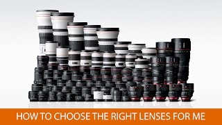How to Choose The Right Lenses For Me