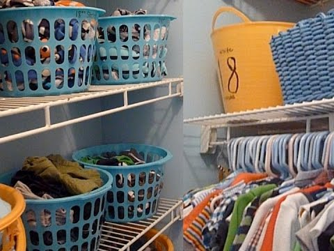 Child S Closet Room Organization Budget You. How To Organize My ...
