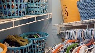 Child's Closet & Room Organization {budget!}