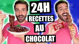 JE MANGE QUE DES RECETTES AU CHOCOLAT PENDANT 24H - CARL IS COOKING