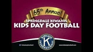 65th Annual Springdale Kiwanis Kids Day Football | 1st & 2nd | Blue vs. Gray
