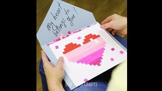 Easy Paper Craft Love | Paper Gift