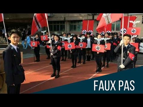 Estudiantes en Taiwán recrean desfile nazi con música de Darth Vader