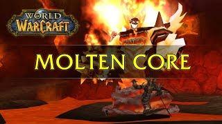 World of Warcraft: MoĮten Core Raid - Solo Paladin