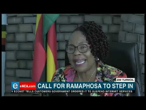 Zimbabwe oppostion party, the MDC is asking South Africa to intervene.