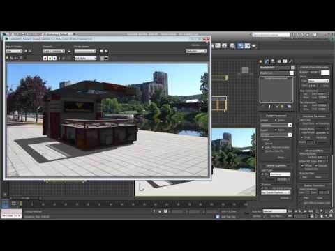 3ds Max - Matching the Environment - Part 2 - Scanline Renderer