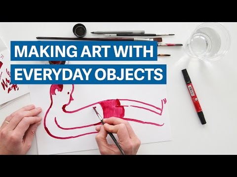 Making art with everyday objects