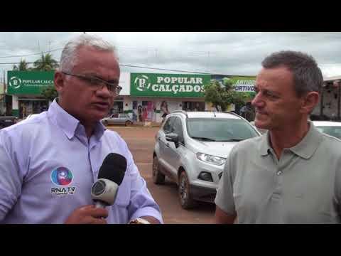 Pré candidato a governador visita Confresa