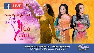 Livestream với Phi Nhung, Hạ Vy, Diễm Sương - giới thiệu show thu hình PBN 124