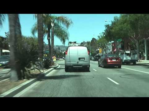 Time Lapse Drive 49: Wilshire Blvd., Santa Monica Blvd., Hollywood, And Griffith Observatory