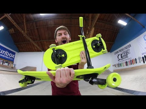 THE MOST INCREDIBLE SKATEBOARD INVENTION OF ALL TIME?!