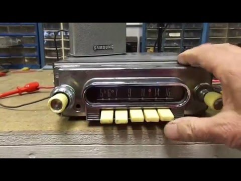 1960-63 Full Size Ford Galaxie, Fairlane Falcon AM Push Button Radio Aftermarket?
