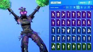 RAVAGE SKIN SHOWCASE WITH ALL FORTNITE DANCES & EMOTES