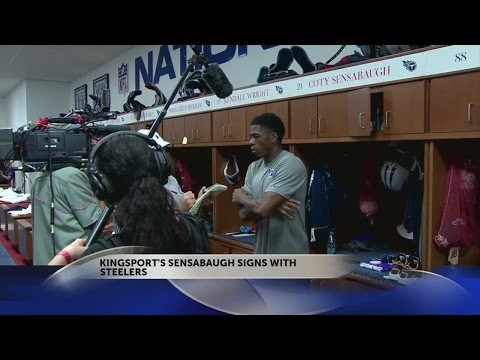 Kingsport's Coty Sensabaugh signs with Steelers
