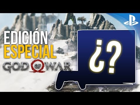 ¡¡ASÍ ES la EDICIÓN ESPECIAL GOD OF WAR de PS4® Pro!!