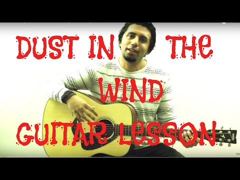 dust in the wind guitar lesson