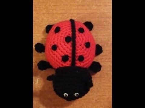 Amigurumi Tutorial Animali : Coccinella all uncinetto amigurumi tutorial crochet youtube