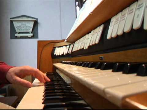 Video report on pipe organ in redundant UK church for export