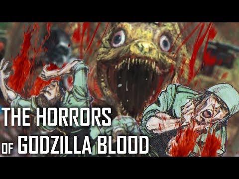 The Horrors Of Godzilla Blood  |  Unused Godzilla Film Concepts
