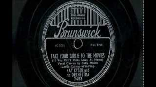 "Kay Kyser & His Orchestra - ""Take Your Girlie To The Movies"" & ""Isch Ka Bibble"""