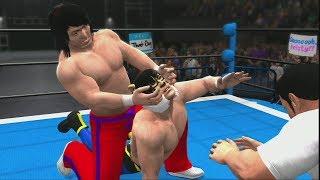 NWA,WWFジュニアヘビー級ダブル選手権 タイガーマスクvs小林邦昭。