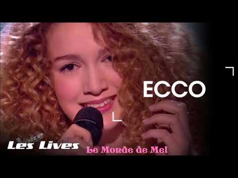 The Voice France : Ecco ~ There Must Be An Angel [Audio] ♫ 💜