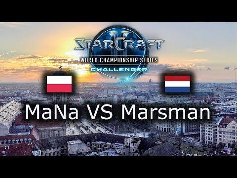 MaNa VS Marsman - WCS Leipzig EU Qualifier - Day 1 - polski komentarz - PvP