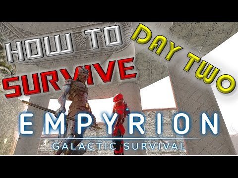 The New Player's Guide To Day Two! | Empyrion Galactic Survival Tutorial Gameplay Version 1.2 | Ep2