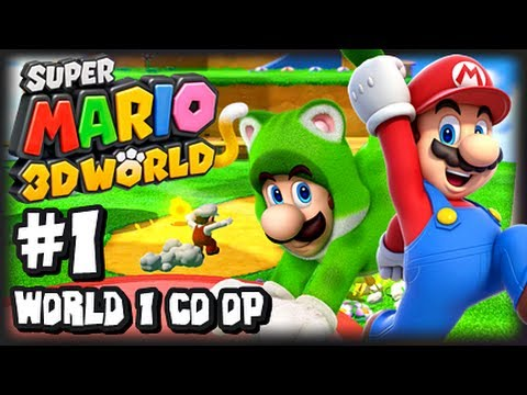 can you play super mario 3d world on the wii