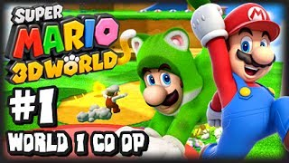 Super Mario 3D World Wii U - (1080p) Co-Op Part 1 - World 1 thumbnail