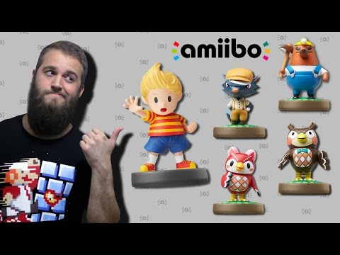 AMIIBO HUNTING + UNBOXING (LUCAS + WAVE 2 ANIMAL CROSSING AMIIBO)