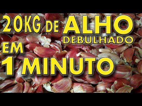 20 kg alho debulhado em máquina 1 min., equipamento Debulhador de Alho AGMAC   DCA-2000 MASTER 2
