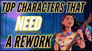 Top Character Reworks that we NEED in Disney Sorcerer's Arena