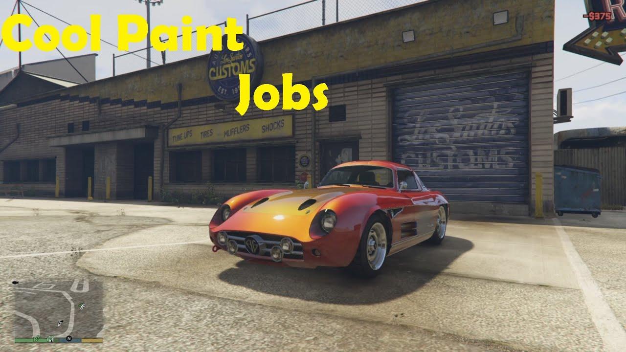 86 COOL GTA V CAR PAINT JOBS