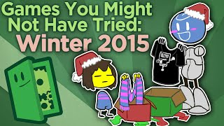 Games You Might Not Have Tried: Winter 2015 - Find New Games - Extra Credits (Video Game Video Review)