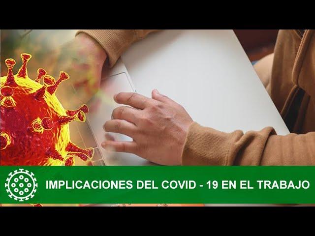 Implicaciones del COVID   19 en el Trabajo1