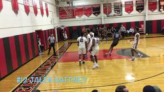 Future Lottery Pick!!Cam Reddish!!Dunk Show&Nasty Posters Westtown School Vs. The Hun School