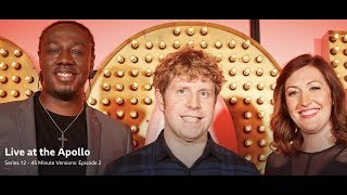 Live at the Apollo, S12 E2. Josh Widdicombe, Nathan Caton, Celia Pacquola (45 Minute Versions).