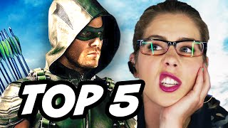 Arrow Season 4 Episode 3 - TOP 5 WTF and Easter Eggs