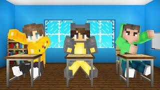 We Went To NOOB SCHOOL In MINECRAFT!