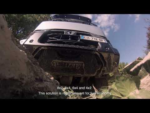 Get to know Renault Trucks Optitrack system